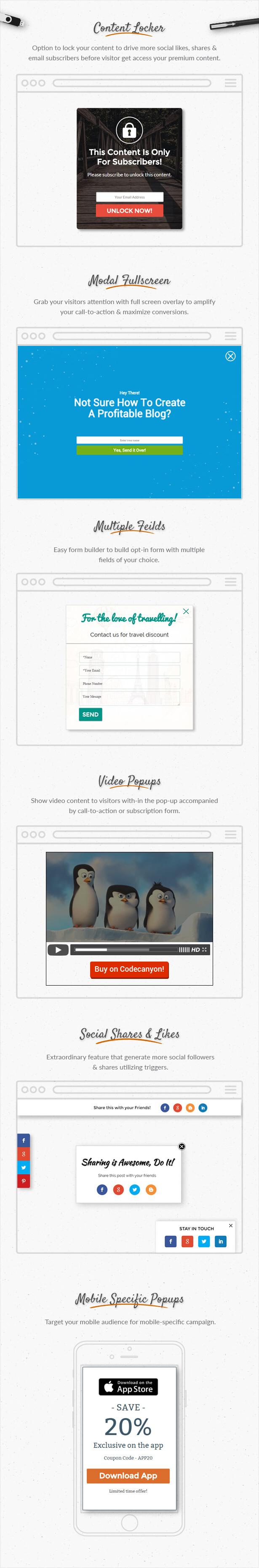 Popup Plugin For WordPress - ConvertPlus - 14